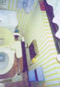 トイレのビフォー